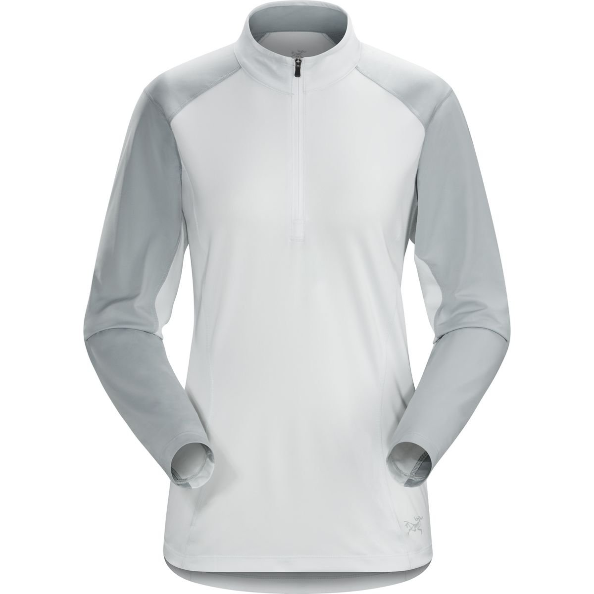 (アークテリクス) Arc'teryx Skeena Zip-Neck Shirt レディース シャツトップスIonic Sky [並行輸入品] M Ionic Sky B077N3KTGR