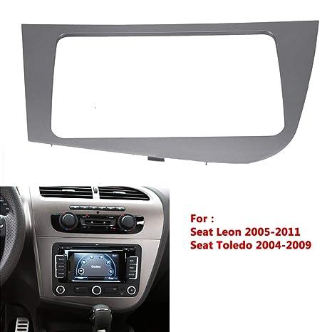 Amazon.com: OUYAWEI Automotive DVD Panel Frame for Seat Leon ...