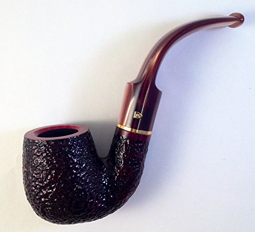 Savinelli Roma Lucite #614 Oom Paul Full Bent Tobacco Smoking Pipe - 5235K ()