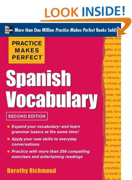 Spanish Adjectives: Amazon.com