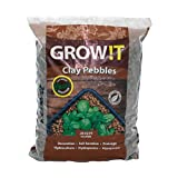 GROW!T GMC10L Horticultural Clay Pebbles 10L 4mm-16mm
