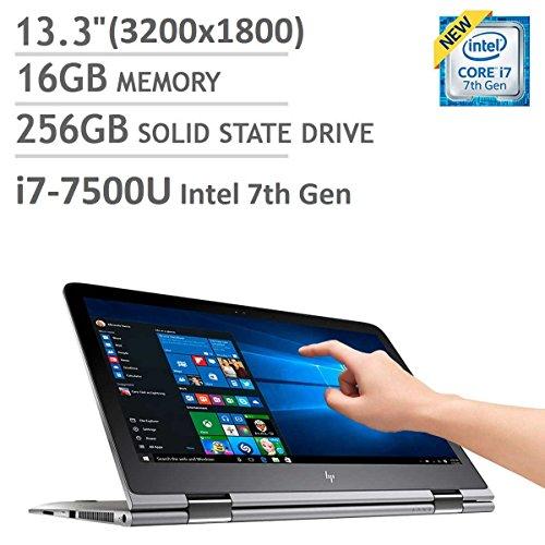 HP ENVY 13 x360 2-in-1 Laptop: 13.3″ QHD+ (3200×1800) EDGE-TO-EDGE GLASS TouchScreen | Intel i7-7500U | 16GB | 256GB SSD | 0.6″ Thin | Windows 10 (Certified Refurbished)