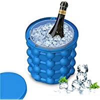 HAIT Ice Bucket Cube Maker Tray Silicone Mold Family And Outdoors Ice Cubes Preservation