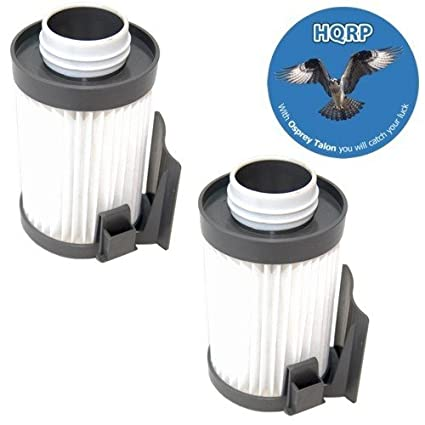4-Pack HQRP H12 Filter for Eureka Optima Pet Lover Oh 430 Series Vacuums DCF14