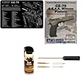 Ultimate Arms Gear Gunsmith & Armorer's Cleaning Work Bench Gun Mat CZ 75 CZ-75 + Compact Pocket Sized Travelling Cleaning Kit + American Gunsmithing Institute Pistols Armorer's Course + Gun Cleaner Protector Jet Action Spray Can