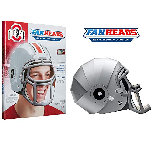 Fan Heads 07687-PDQ Ohio State Buckeyes Helmet ()