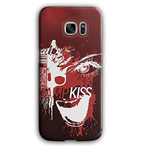 Vampire Kiss Scary Horror Pistol Gun 3D Samsung Galaxy S7 Edge Case | Wellcoda
