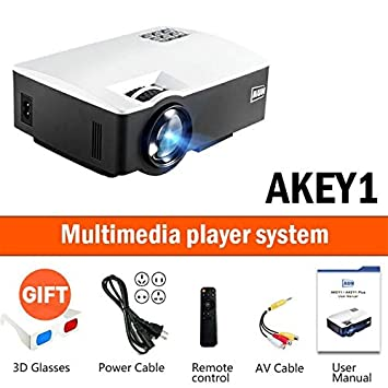 Amazon.com: LCD Projectors - LED Proyector AKEY1/Plus for ...