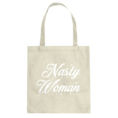 Indica Plateau Nasty Women Canvas Tote Bag