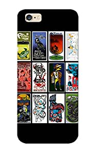 Pretty Kejlvj-6095-cokumoa Iphone 6 Plus Case Cover/ Pearl Jam Bands Album Covers Hard Rock Grunge Vedder Art Series High Quality Case For Thanksgiving Day's Gift