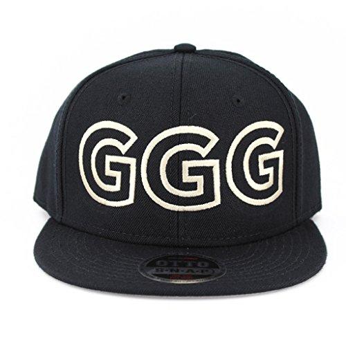 Ggg Flat Six Panel Pro Style Snapback Hat  1866