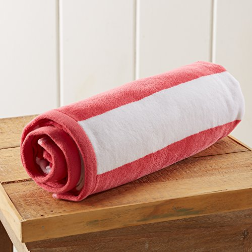 Great Bay Home Cabana Towel  - rolled up