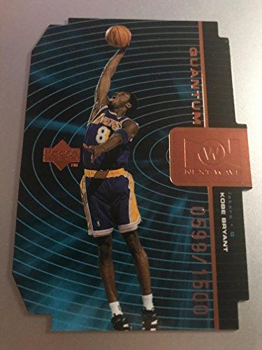 1998-99 Upper Deck Next Wave Quantum Bronze QNW1 Kobe Bryant 0599/1500! Los Angeles Lakers