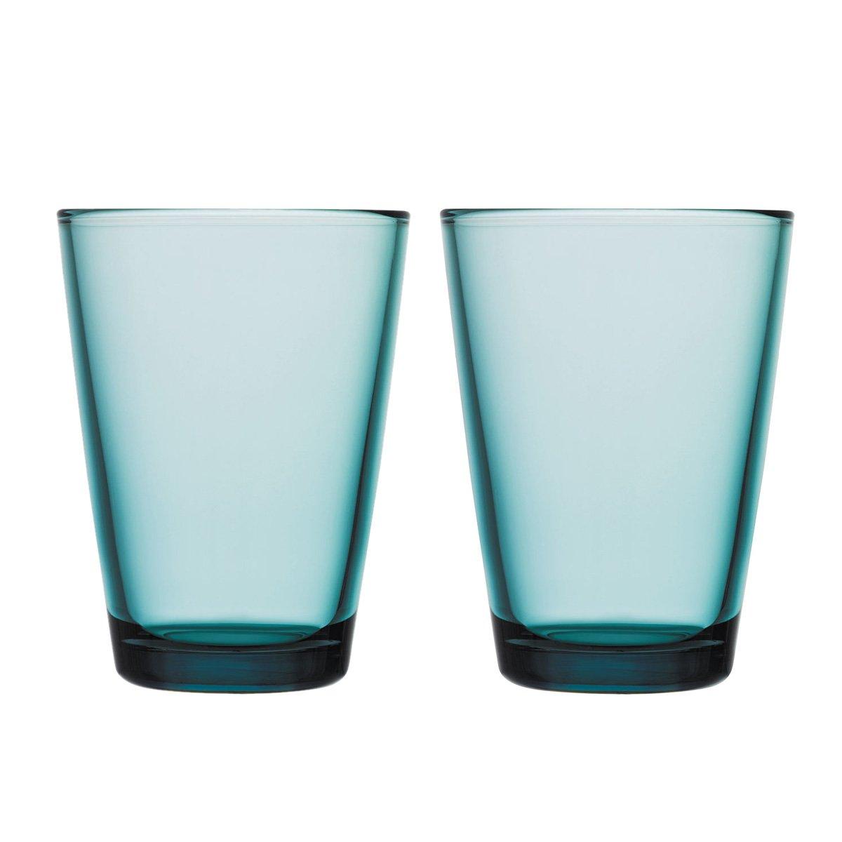 Sea Blue Set of 2 Iittala Kartio 40cl Tumblers