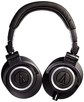 Audio-technica Ath-m50x Professional Studio Monitor Headphones, Black 1
