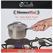 Cooks Innovations SimmerMat Heat Diffuser, Black