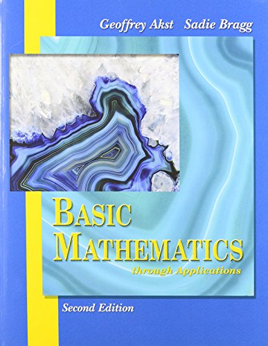 Basic Mathematics through Applications plus MyMathLab Student Package (2nd Edition)