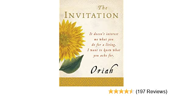 the invitation kindle edition by oriah religion spirituality