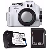 Nikon WP-N3 Waterproof Housing for Nikon 1 J4 or S2 Camera and NIKKOR 11-27.5mm or 10-30mm Lens + EN-EL22 Battery + 16GB SDHC Card Saver Bundle 4