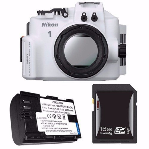 Nikon WP-N3 Waterproof Housing for Nikon 1 J4 or S2 Camera and NIKKOR 11-27.5mm or 10-30mm Lens + EN-EL22 Battery + 16GB SDHC Card Saver Review