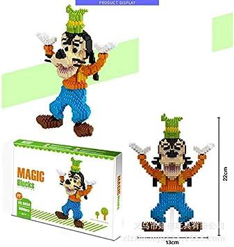 Zenghh Große Magie Baustein Satz Miniatur 3D Modell: Amazon