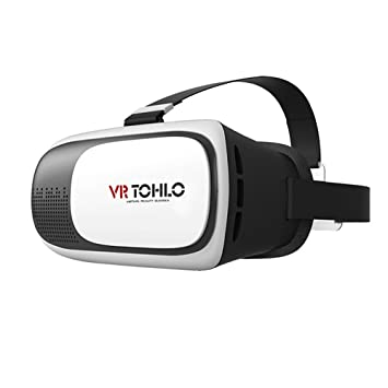 1b0052ff7 J TOHLO 3D VR Virtual Reality Headset 3D Glasses VR for: Amazon.co ...