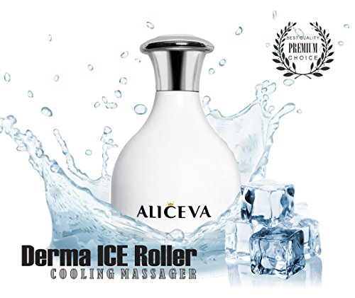 - Aliceva Facial Massager For Face - Ice Roller For Face and Eye Puffiness Relief, Tighten Pores, Reduce Swelling, Relieve Muscles Pain and Fatigue