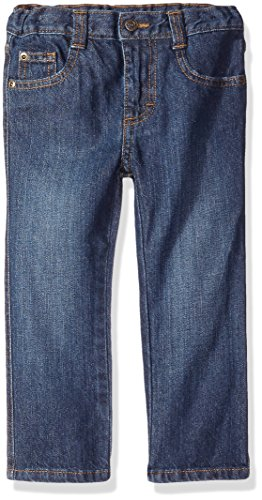 Wrangler Authentics Boys' Slim Straight Jean, Classic Blue, 12 Months by Wrangler