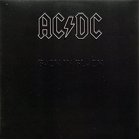 AC/DC - Back in Black [Vinyl] - Amazon.com Music