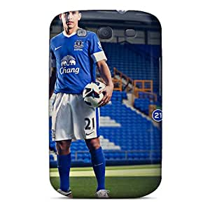 Fashion Tpu Case For Galaxy S3- Famous Fc Of England Everton Defender Case Cover