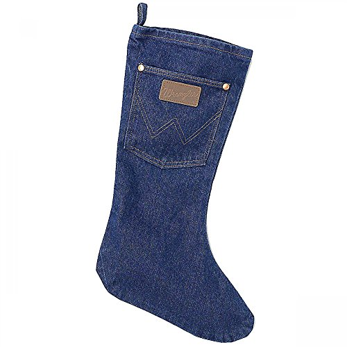 Wrangler Denim Christmas Stocking product image