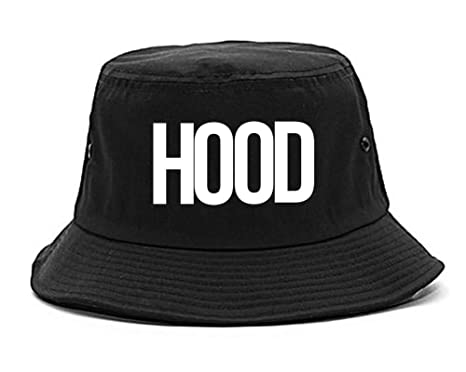 Kings Of NY Hood Trap Style By Compton New York Air Bucket Hat Black 2705e9154db