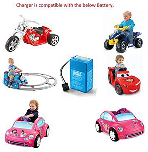 Amazon Power Wheels Toddler 6 Volt Charger Toys Games