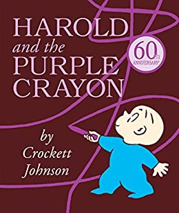 Harold and the Purple Crayon (Purple Crayon Books) by [Johnson, Crockett]