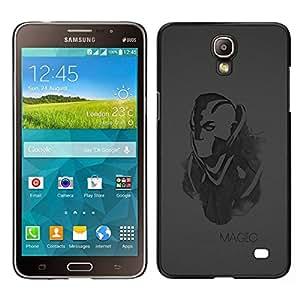 // PHONE CASE GIFT // Duro Estuche protector PC Cáscara Plástico Carcasa Funda Hard Protective Case for Samsung Galaxy Mega 2 / Magic /