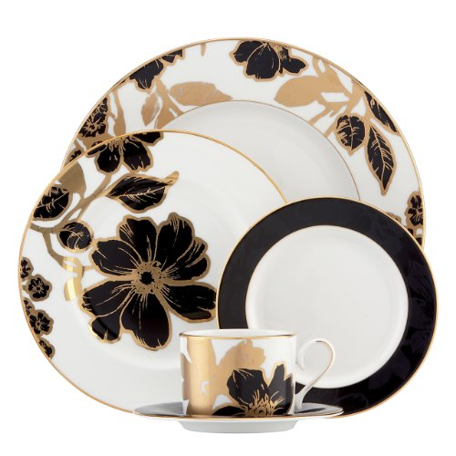 (Lenox Minstrel Gold 5-Piece Place Setting)