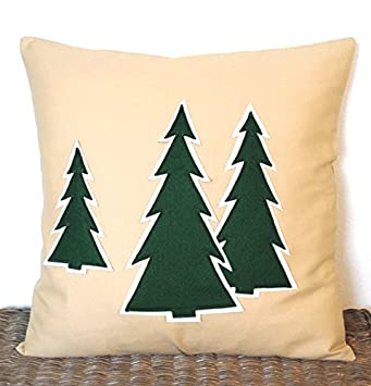 One Christmas Tree Pillow covers, 20x20, holiday pillow, decorative pillow,  cushion,