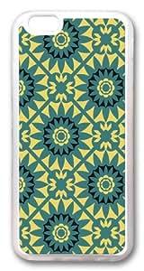 iphone 6 plus Case and Cover -Kaleidoscopic1 TPU Silicone Rubber Case Cover for iphone 6 plus and iphone 6 plus 5.5 inch Transparent