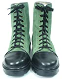 Asm Green Waterproof Leather Jungle Boots With PU Sole & Soft Leather Insoles, Fully Soft Leather Lining and PU Foot Pad For Optimum Comfort For Men. Article 604W (9)