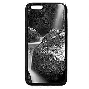iPhone 6S Case, iPhone 6 Case (Black & White) - Cool Stream