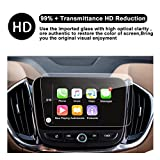 RUIYA Chevrolet Malibu 8-Inch Trapezoid/7-Inch Car Navigation Protective Film,Clear TEMPERED GLASS HD and Protect your Eyes (2016-2018 Chevy Malibu 8-Inch)