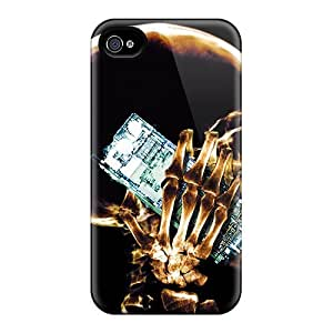 LSSlxVk5663AYxPE Case Cover, Fashionable Iphone 4/4s Case - X Ray Cell