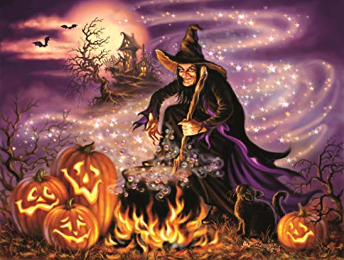 All Hallows Eve 500 pc Halloween Jigsaw Puzzle