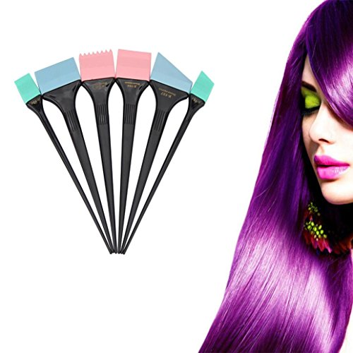 silicone hair color brushes - 5