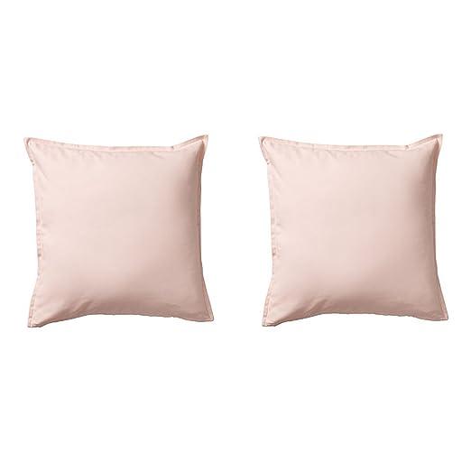 Ikea GURLI Fundas de cojín, Color Rosa Claro, 20 x 20 - 2 ...