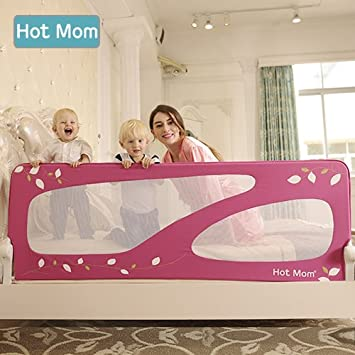 Hot Mom Nursery Safety Bed Rails Portable And Steady Bedrail For BabiesExtra Large 150cm