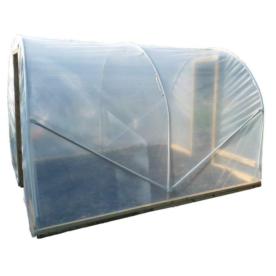 Greenhouse Polytunnel Cover | 9.2m x 10m | 720 Gauge Clear Polythene Film Sheeting Elixir