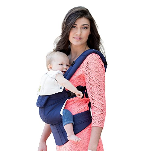 SIX-Position, 360° Ergonomic Baby & Child Carrier by LILLEbaby - The COMPLETE Embossed (Blue)