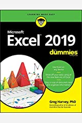 Excel 2019 For Dummies Paperback