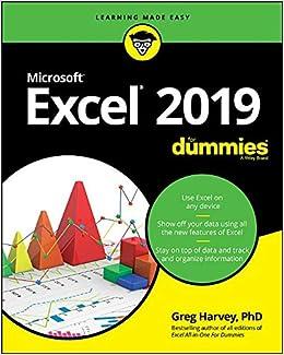 Excel 2019 For Dummies: Amazon co uk: Greg Harvey
